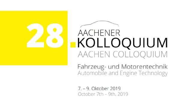 Aachen Colloquium 2019 – Automobile and Engine Technology