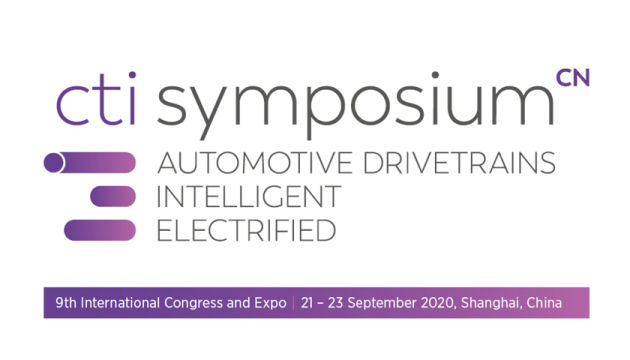 CTI Symposium Shanghai – Automotive Drivetrains, Intelligent, Electrified