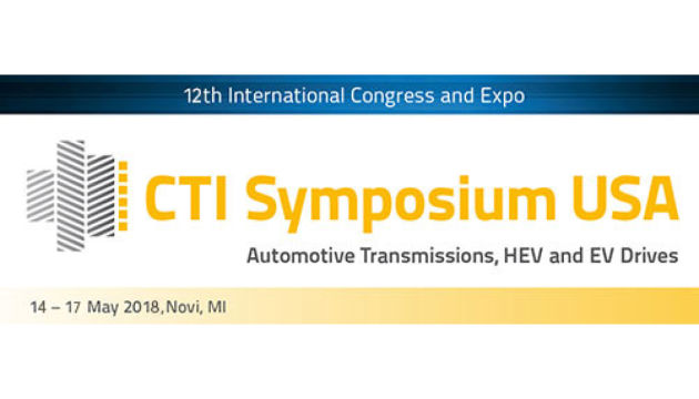 CTI Symposium USA – Automotive Transmissions, HEV and EV Drives