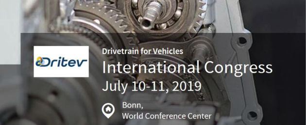 Dritev - International Congress Drivetrain for Vehicles