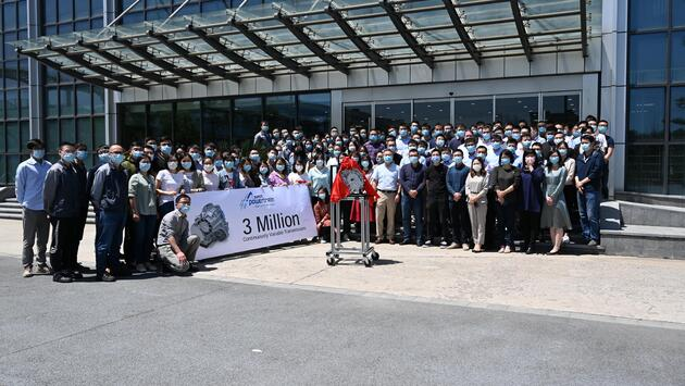 Punch Powertrain Celebrates 3 Million CVT Milestone